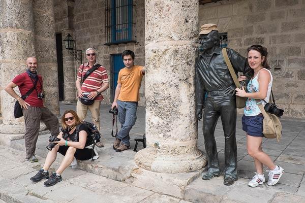workshop di fotografia a Cuba