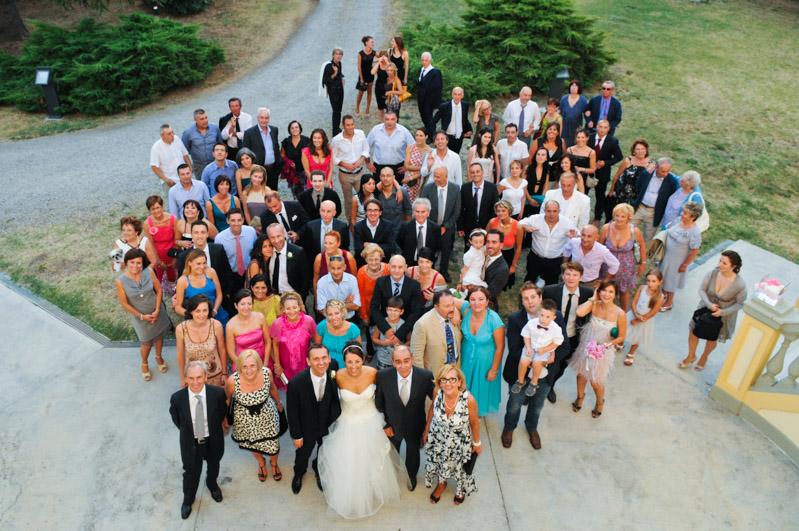 foto invitati di nozze
