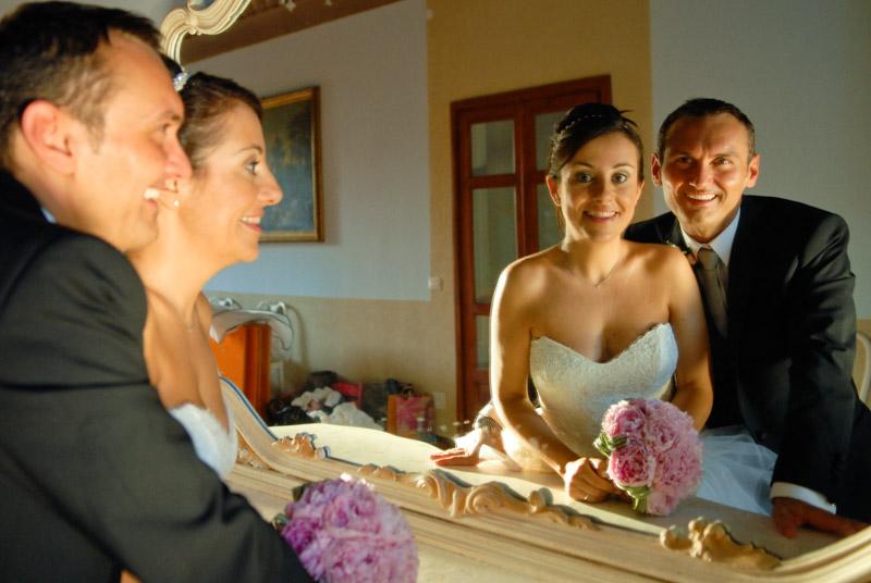 ritratti sposa e sposo
