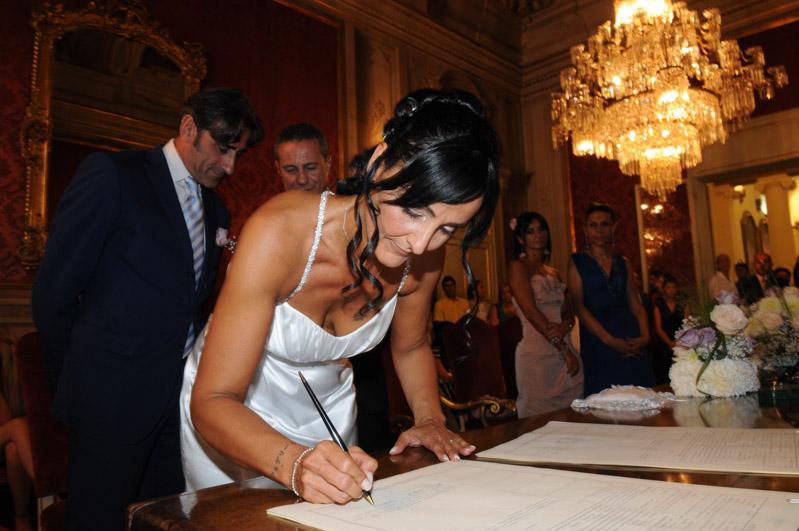 le firme di matrimonio