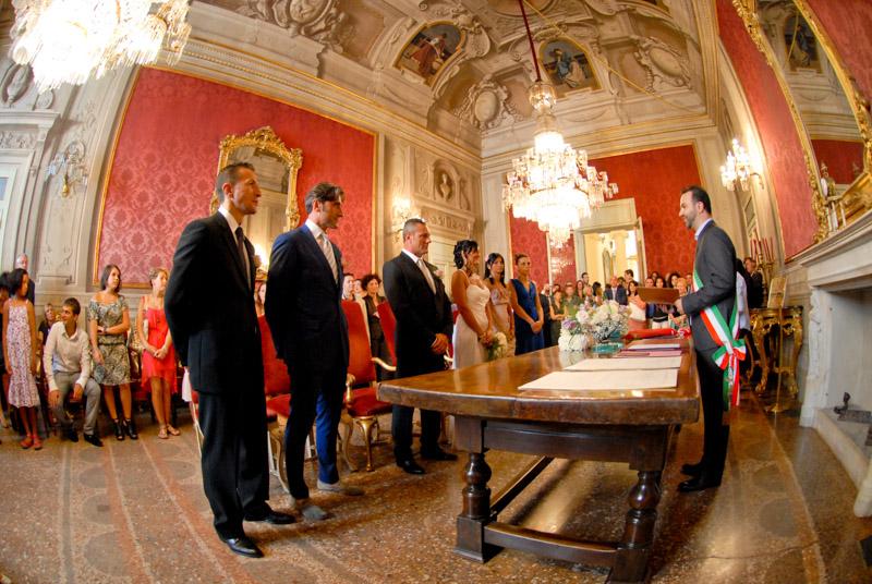 cerimonia di matrimonio a Bologna