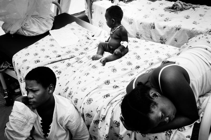 ospedale da campo presso bubukwanga refugee camp Uganda