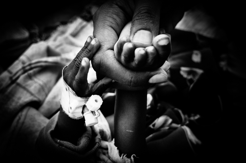 paziente al bubukwanga refugee camp Uganda