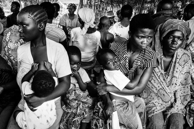 vita presso il campo rifugiati di bubukwanga