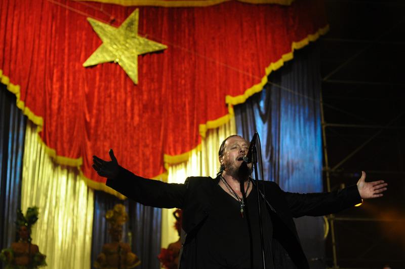 gran concierto zucchero e la bandiera Cubana