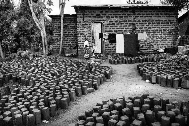 case di mattoni di fango - foto Fulvio Bugani