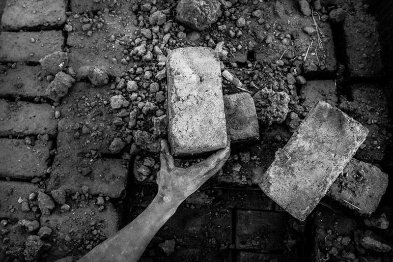 il mattone finito - foto Fulvio Bugani