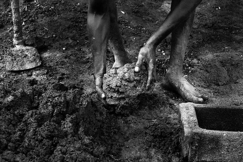 il fango - Foto Fulvio Bugani