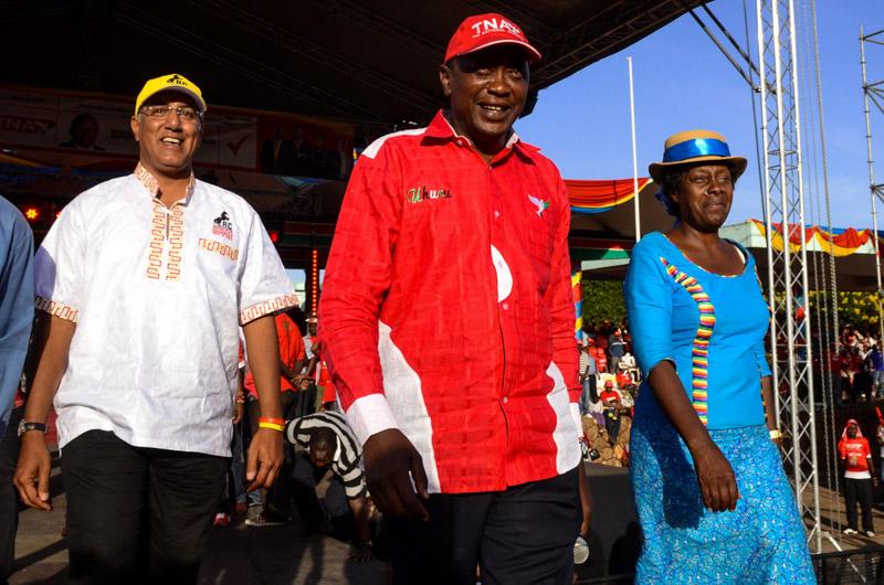 Keniatta per le elezioni Kenya 2013