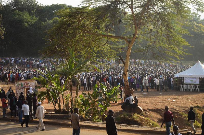 Kibera durante le elezioni Kenya 2013