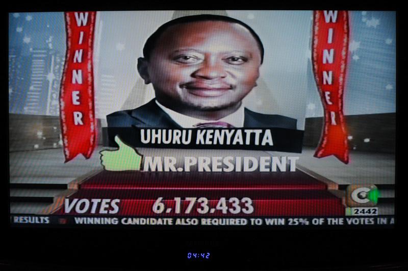 Keniatta vincitore alle elezioni Kenya 2013