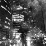 New York sotto la pioggia