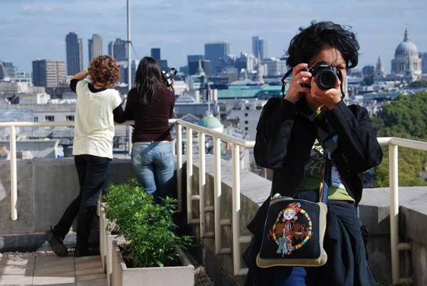 partecipanti viaggio fotografico a Londra