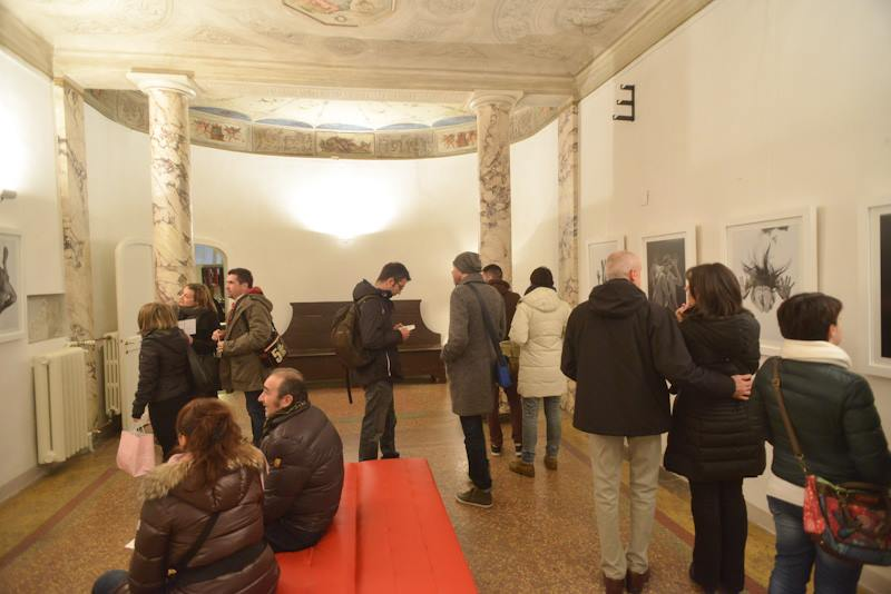 white art city night bologna image
