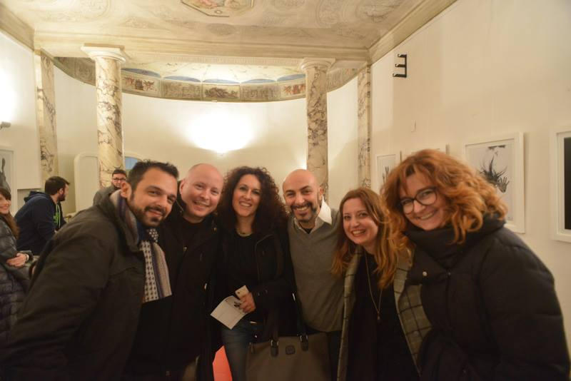 white art city night bologna mostra fotografica