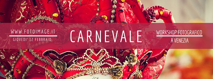 workshop fotografico al carnevale di Venezia 2015
