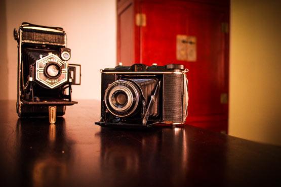 macchine fotografiche still life studio