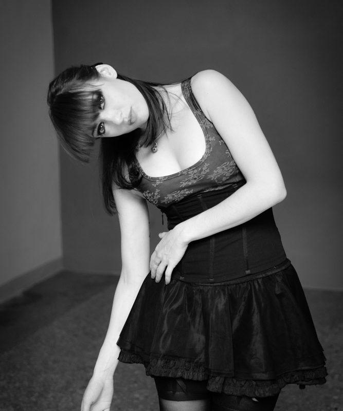 ritratti in studio Foto Image con modella
