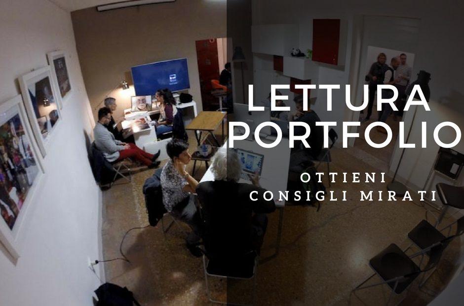 lettura portfolio Fulvio Bugani e Paolo Marchetti a Bologna