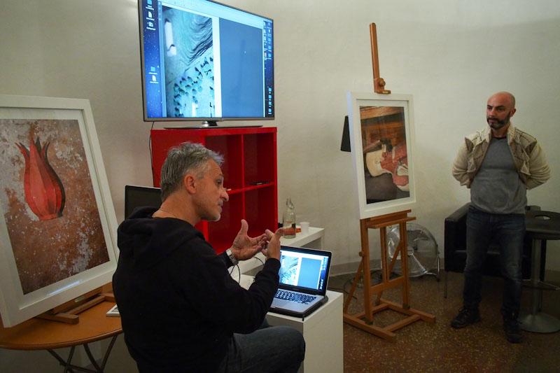 Massimo Mastrorillo spiega aliqual a Foto Image