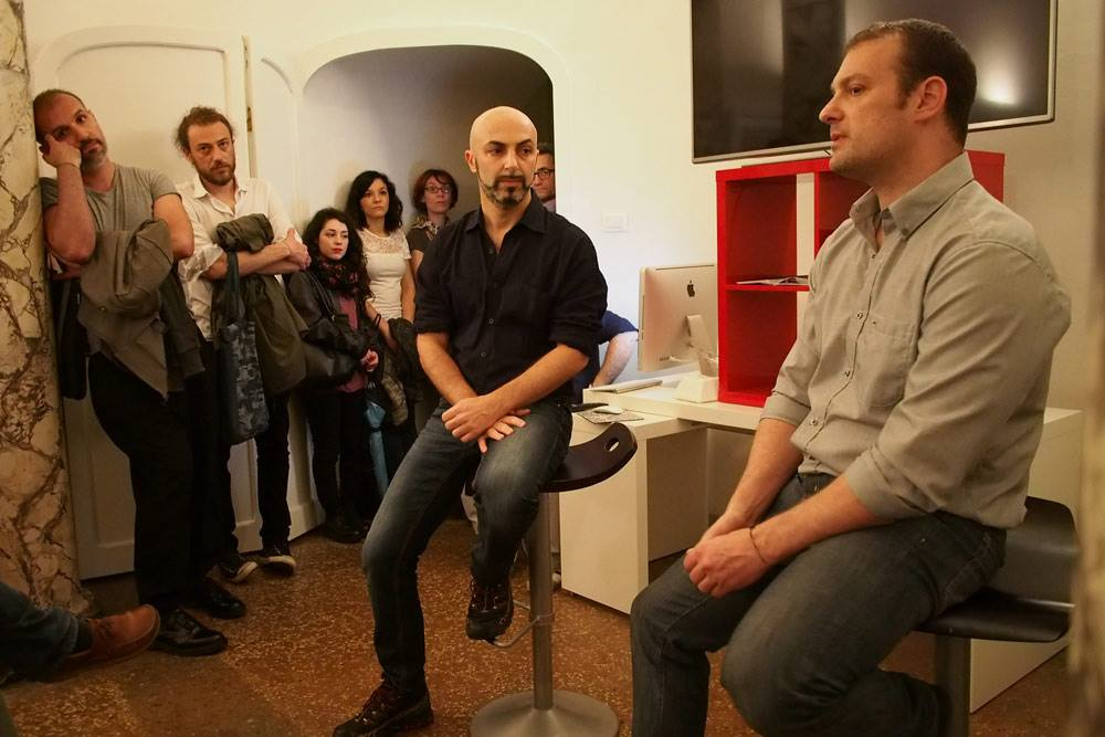 serata fotografica Paolo Marchetti e Fulvio Bugani