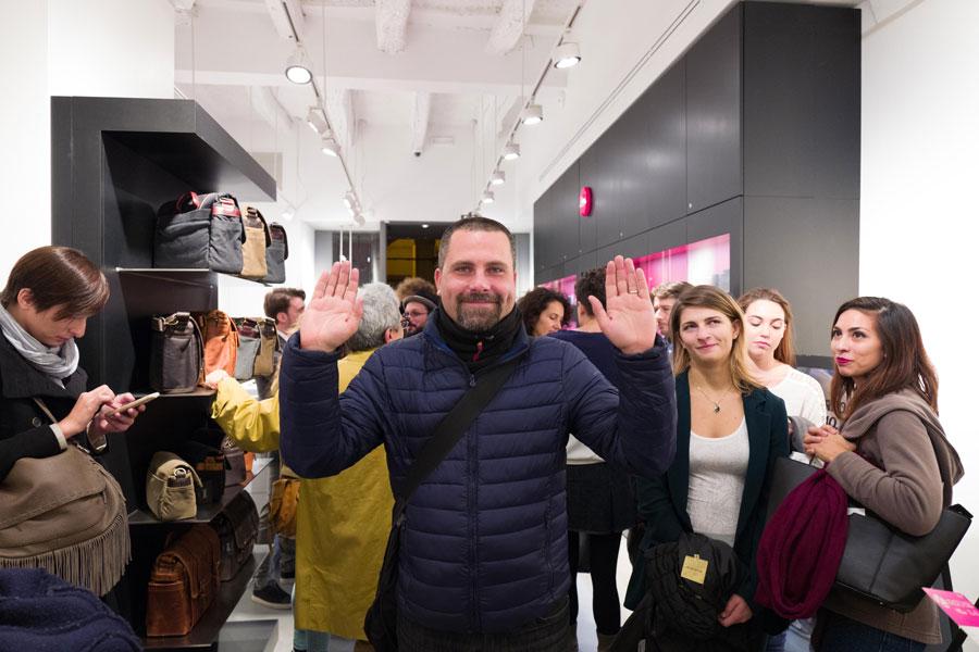 Ruggeri Alessandro al Leica Store