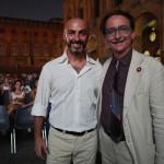 il fotografoi Bugani e Farinelli direttore Cineteca Bologna