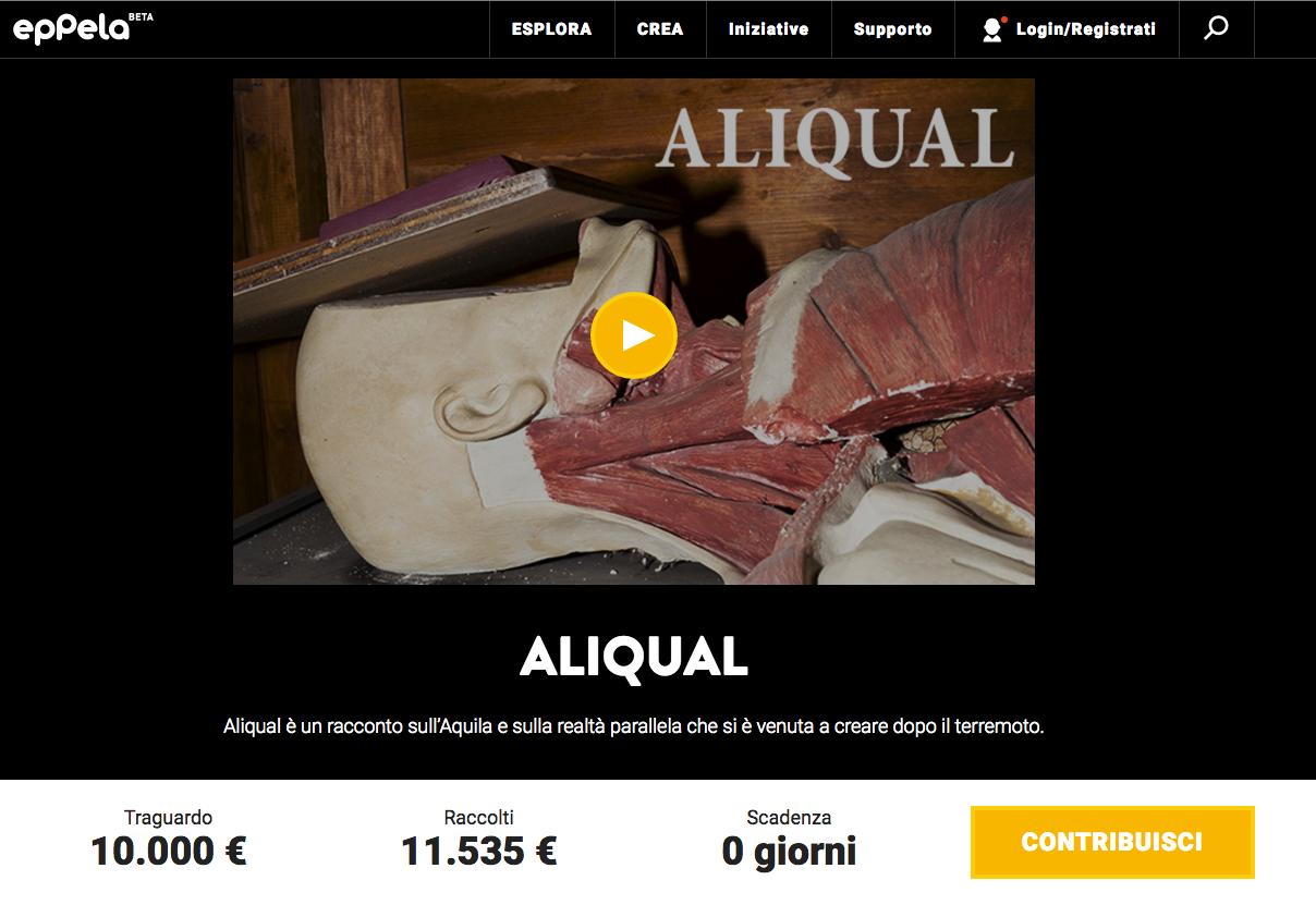 crowdfunding Mastrorillo
