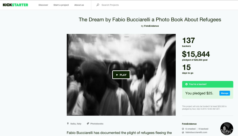 crowdfunding Bucciarelli