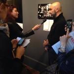 intervista Bugani Inaugurazione mostra world press photo Roma