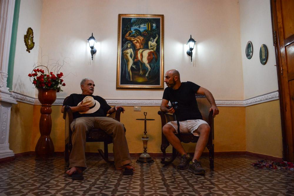 Fulvio Bugani e Franco Pagetti a Cuba