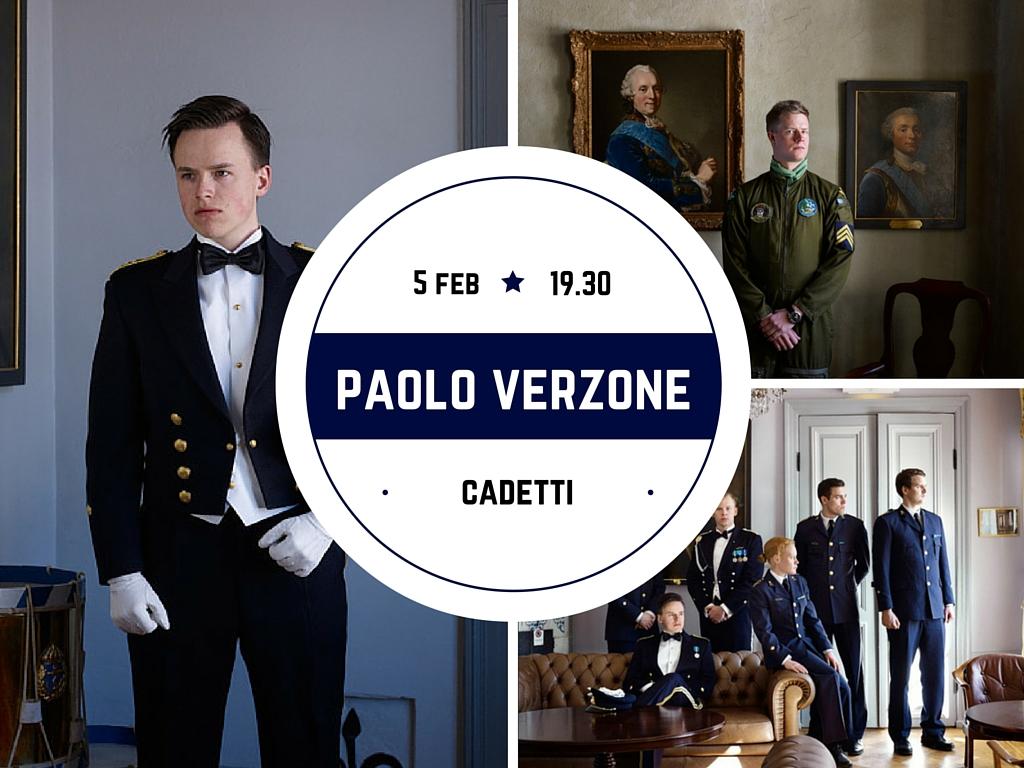 Paolo Verzone presenta Cadetti da Foto Image