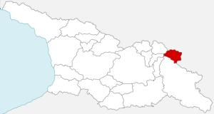 Tusheti regione della Georgia