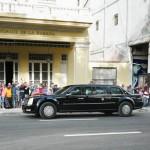 Auto del Presidente Obama a Cuba