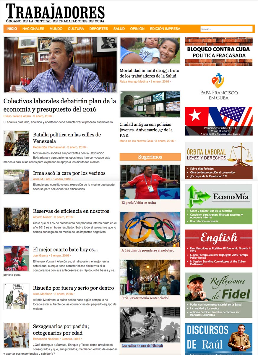 articolo Bugani su Cubani a Miami