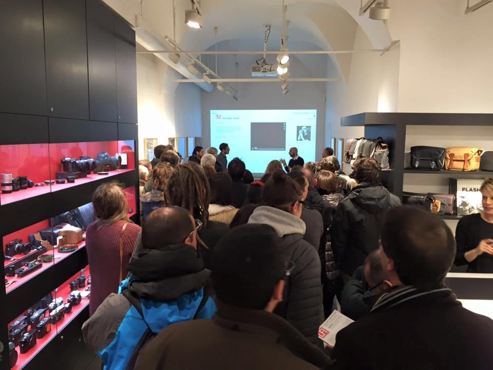 Presentazione Reportage Leica Store