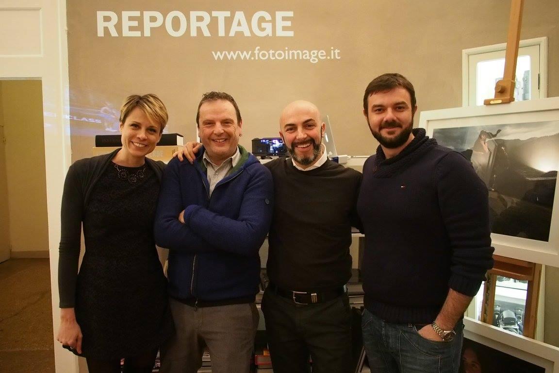 team foto image con Luciano Del Castillo