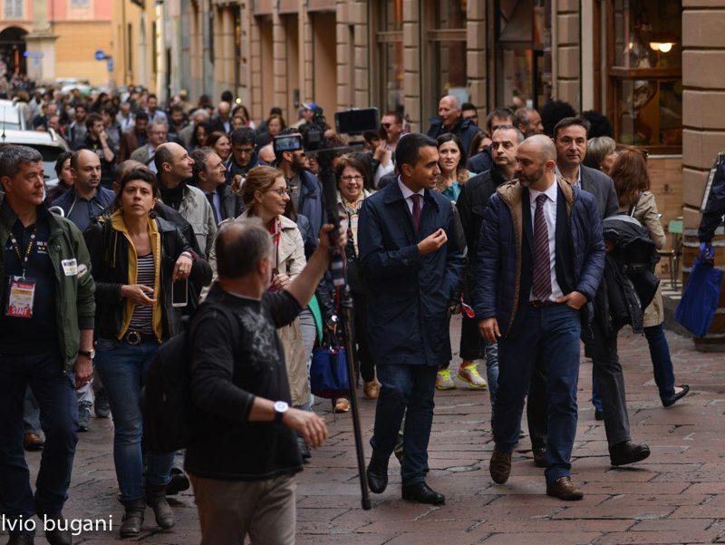 Luigi di Maio a Bologna -©Fulvio Bugani