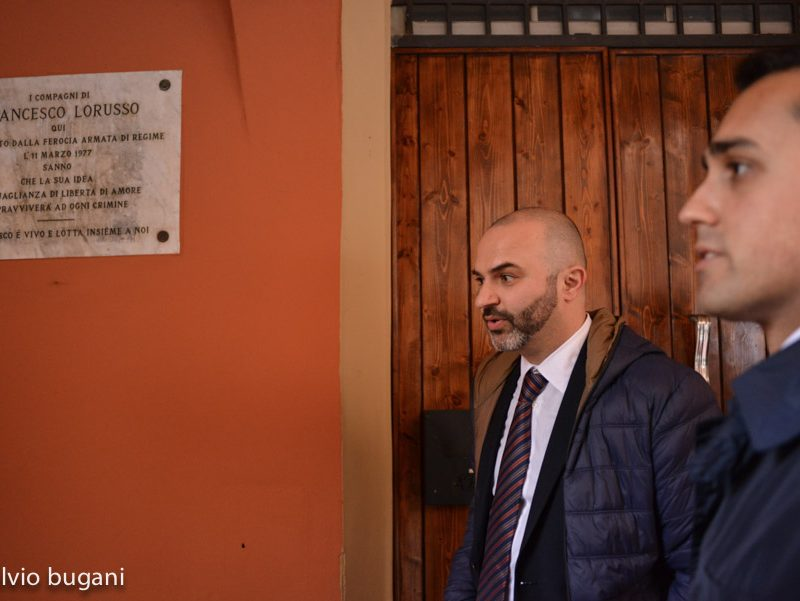 Massimo Bugani M5Stelle a Bologna -©Fulvio Bugani