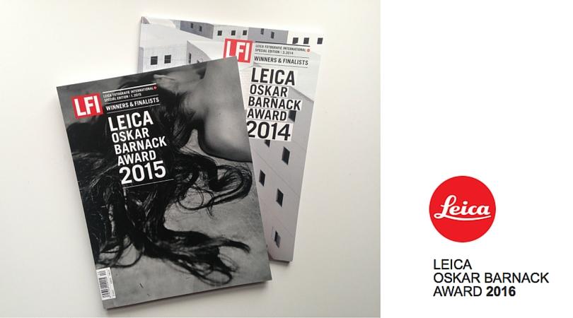 Leica Oskar Barnack award magazine