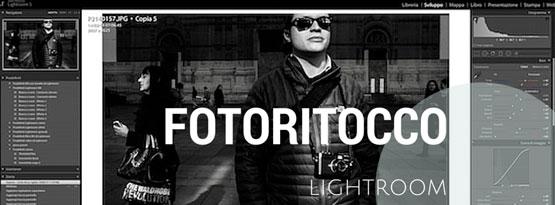 corsi di fotoritocco con Lightroom