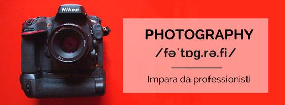 corsi avanzati di fotografia digitale