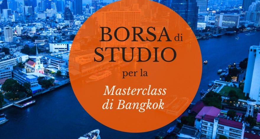 borsa di studio per Masterclass di reportage Bangkok