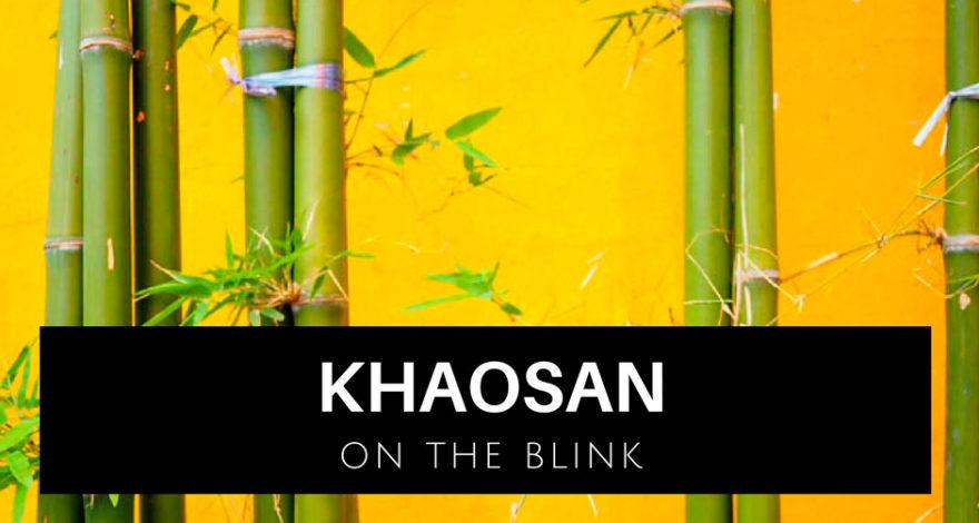 storia fotografica Bangkok Khaosan