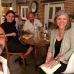 cena a Perpignan con Fulvio Bugani