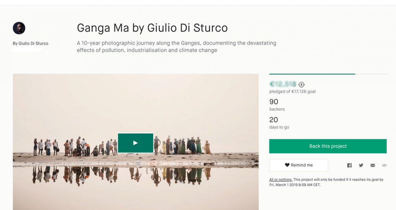 Kickstarter libro Giulio Di Sturco