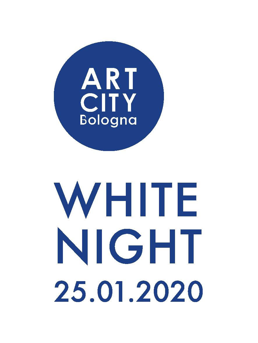 art city white night