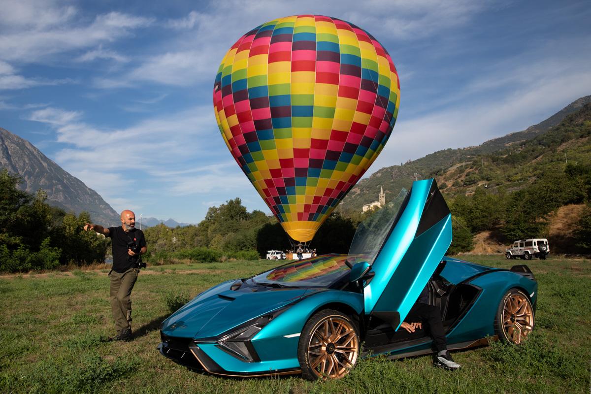 il fotografo Fulvio Bugani per Lamborghini