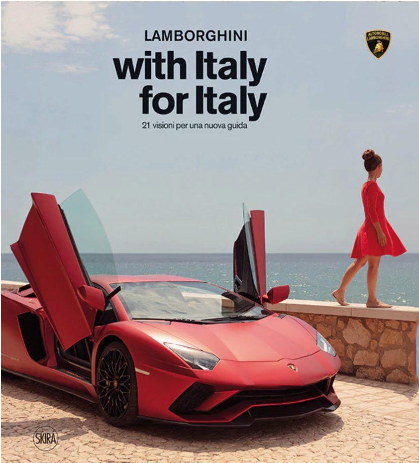 libro Lamborghini del progetto fotografico with Italy for Italy